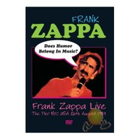 Frank Zappa - Does Humour Belong In Music (dvd)