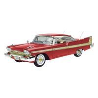 Motormax 1:18 1958 Plymouth Fury Kırmızı Model Araba
