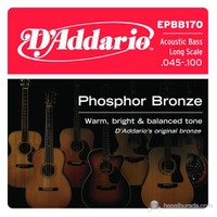 Daddario Epbb170 - Akustik Bass Gitar Teli