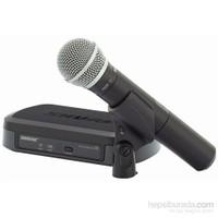 Shure Pg24e/Pg58 Telsiz Vokal Mikrofon Seti