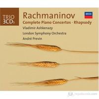 Vladimir Ashkenazy - Rachmaninov: Piano Concertos Complete + Rhapsody