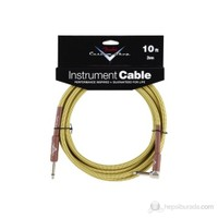 Fender 10 Custom Shop Perf.Cable, Angled, Twd