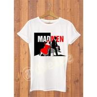 Dyetee Red Woman Bayan T-Shirt