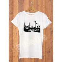 Dyetee Ankara 1 Bayan T-Shirt