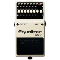 Boss Ge-7(T) Equalizer Compact Pedal