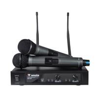 Westa Wm-442 E Uhf Kablosuz Mikrofon Çift El