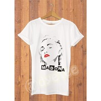 Dyetee Madonna Hottie Bayan T-Shirt
