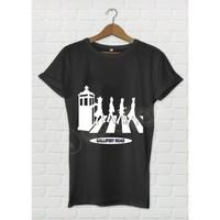 Dyetee Gallifrey Road Bayan T-Shirt