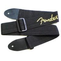 Fender 2 Poly Logo Black/Yellow Logo Gitar Askısı