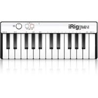 Ik Multimedia İrig Keys Mini 25 Mini Tuş Usb Mıdı Klavye (İos, Android, Mac & Pc)