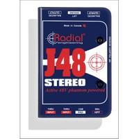 Radial J 48 Stereo Aktif Stereo Dı Box