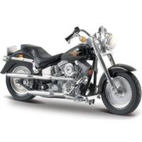 Maisto Harley-Davidson Flstf Fat Boy 1997 Model Motor