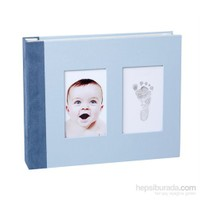 Baby Memory Prints El ve Ayak İzi Deri Anı Defteri