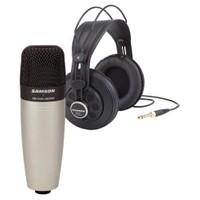 Samson Esa C01/SR 850 Kulaklık Ve Condenser Mikrofon Paketi