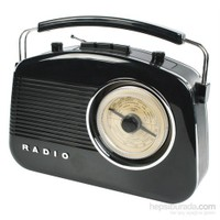 König Retro Design Am/Fm Radio - Siyah