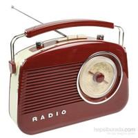 König Retro Design Am/Fm Radio - Kahverengi