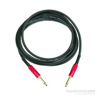 Klotz Rock Master Signature 3m. Altın Kaplama Jack Uçlu Siyah Enstrüman Kablosu MJPP03