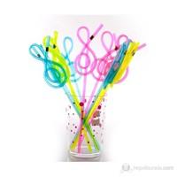 Aim Gifts Renkli Sol Anahtarlı Pipetler