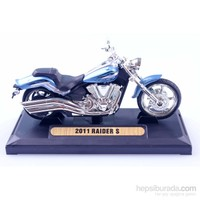 Diecast 2011 Raider S 1/18 Die Cast Model Motorsiklet