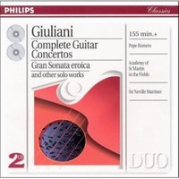 Giuliani - Complete Guitar Concertos - 2 Cd