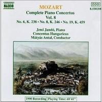 Mozart - Complete Piano Concertos Vol. 8 (Cd)