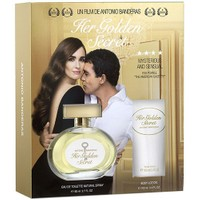 Antonio Banderas Her Golden Secret Kadın Set Edt 80 Ml Parfüm + 100 Ml Vücut Losyonu