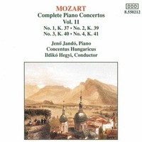 Mozart - Complete Piano Concertos Vol.11 Cd