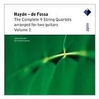 Haydn - De Fossa - The Complete 9 String Quartets Arranged For Two Guitars Vol. 2 (Cd)