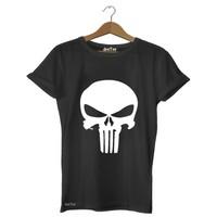 Dyetee Punisher Bayan T-Shirt
