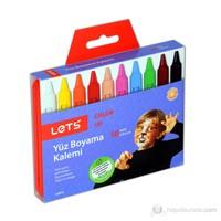 Lets 6810 Yüz Boyama Kalemi 10 Renk