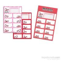 Keskin 220130-60 Hello Kitty Little Ders Programlı 3 Yapraklı Etiket
