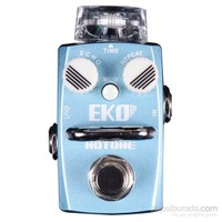 Hotone Eko SDL-1 Single Footswitch Analog Digital Delay Pedal