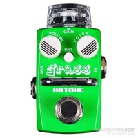 Hotone Grass SOD-1 Single Footswitch Analog Overdrive Pedal