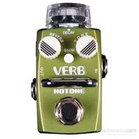 Hotone VERB SRV-1 Single Footswitch Digital Reverb Pedal (Room/Hall + Shim)