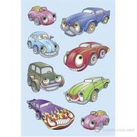 Herma Çocuk Etiketleri Arabalar