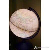 Işıklı Antik Küre 30 Cm