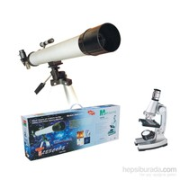 Lizer Teleskop & Mikroskop Set TWMP-0406