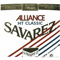 Savarez Alliance/Ht Classic Rouge/Blue Klasik Gitar Teli-Normal/Yüksek Tan.