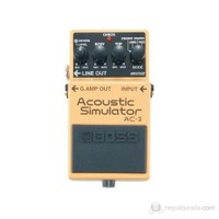 Boss Ac3 Akustik Simulatör Elektro Gitar Analog Pedal