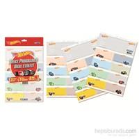 Gıpta 5410 Hot Wheels Ders Programlı Okul Etiketi 3 Yaprak