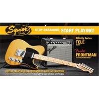 Squier Affinity Series Tele With Frontman 15G Amp