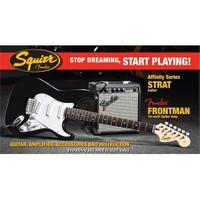 Squier Affinity Series Strat Frontman 10G Amp Blk
