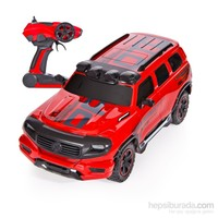 Vardem City Technology Şarjlı Cross Jeep 1:12 Kırmızı