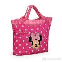 Minnie Mouse El Çanta 26*20*9 cm (Pembe)