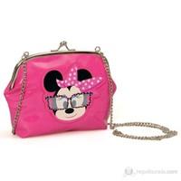 Minnie Mouse Omuz Çantası 20*16*5 cm (Pembe)
