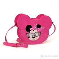 Minnie Mouse Omuz Çantası 20*15*5 cm (Pembe)