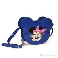 Minnie Mouse Omuz Çantası 20*15*5 cm (Mavi)
