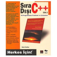 SIRA DIŞI C++ / CİLT 2