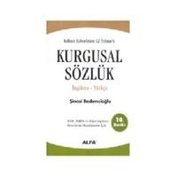 Kurgusal Sözlük (İngilizce - Türkçe 2 Cilt Birarada)