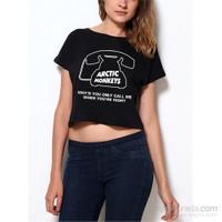Köstebek Arctic Monkeys - Why'd You Only.. Kadın T-Shirt